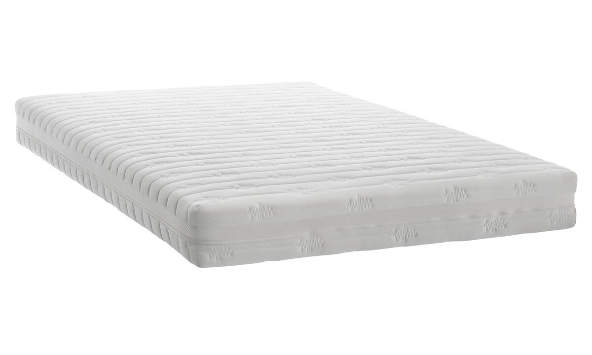 Mattresses - Pocket Spring mattress - White - Fabric