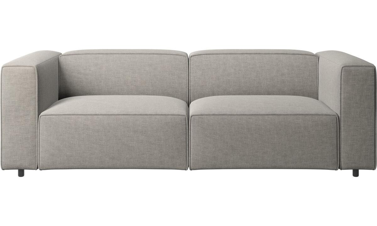 2.5 seater sofas - Carmo motion sofa - Grey - Fabric
