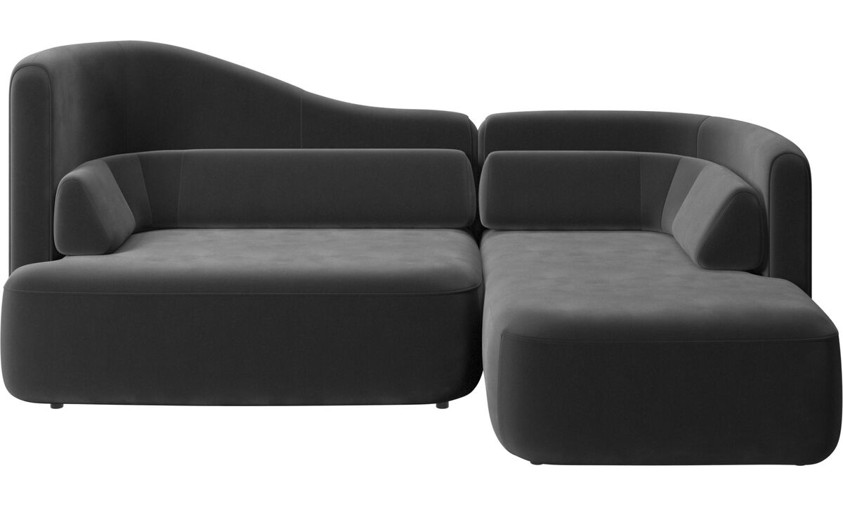 Modular sofas - Ottawa sofa - Black - Fabric