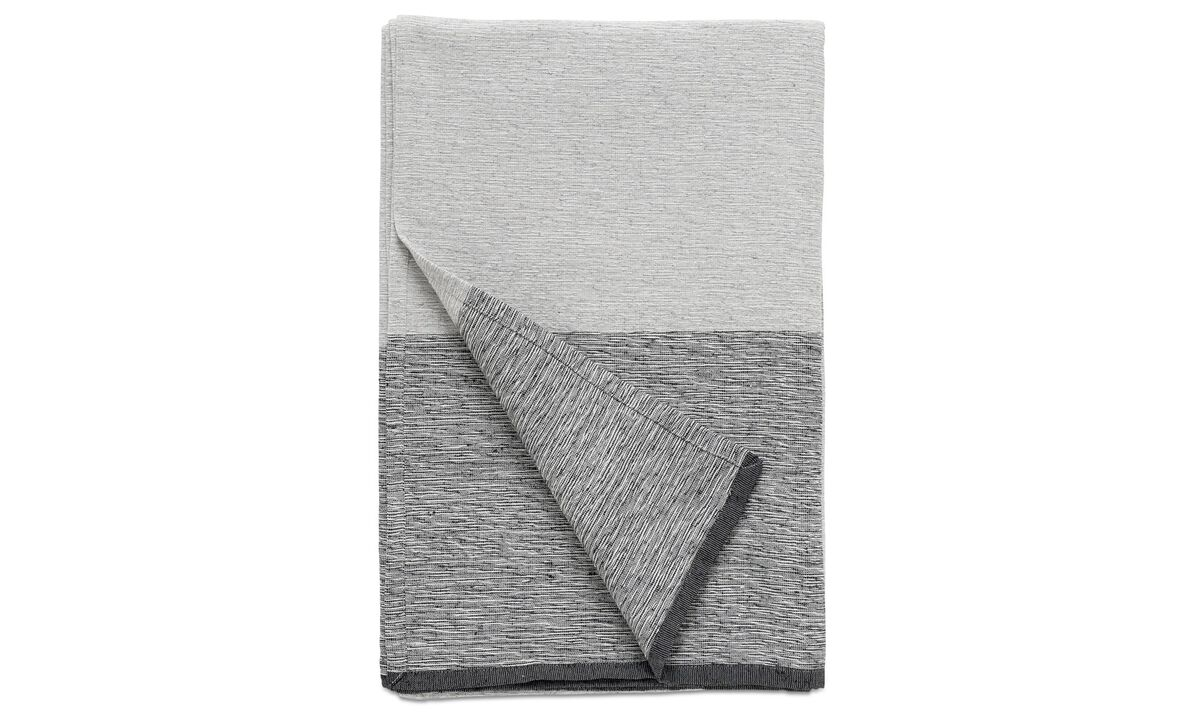 Throws & bedspreads - Bedspread Grey - Fabric