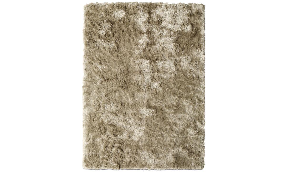 Rugs - Neat rug - rectangular - Beige - Fabric