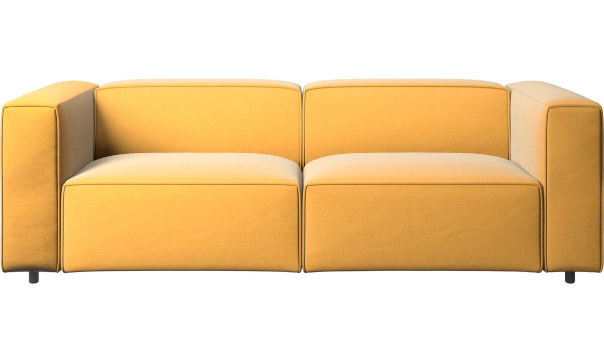 Sofás modulares - Sofá Carmo - En amarillo - Tela