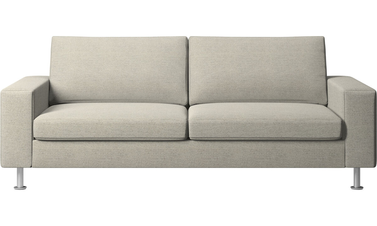 Sofás cama - sofá cama Indivi - En beige - Tela