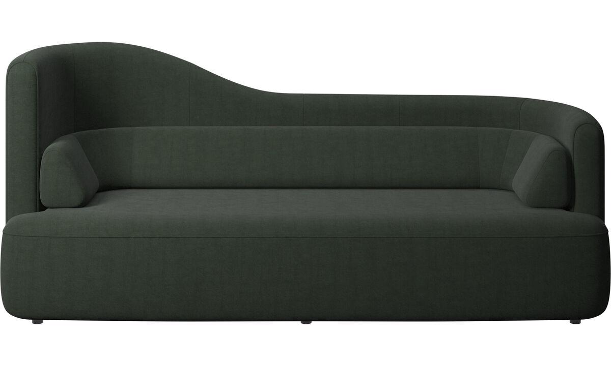 2.5 seater sofas - Ottawa sofa - Green - Fabric