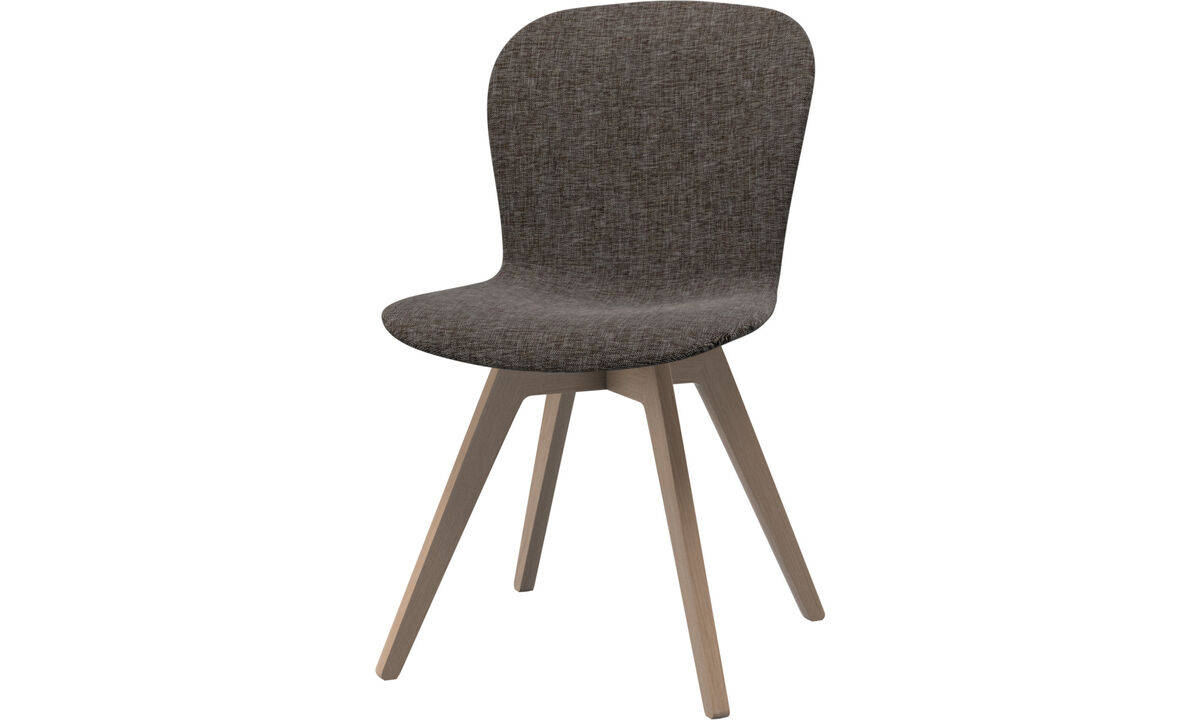 Dining chairs - Adelaide chair - Brown - Fabric