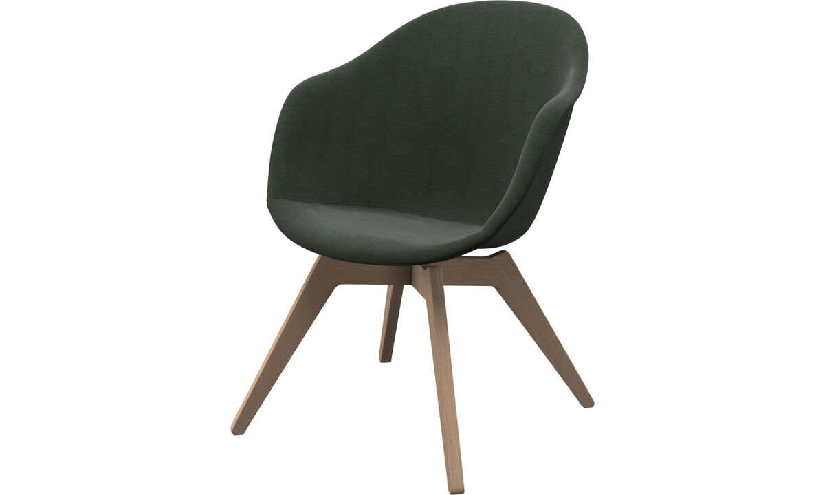 Armchairs - Adelaide lounge chair - Green - Fabric