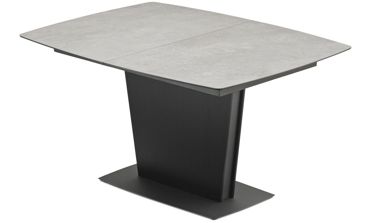 Spiseborde - Milano bord med tillægsplade - firkant - Grå - Keramik