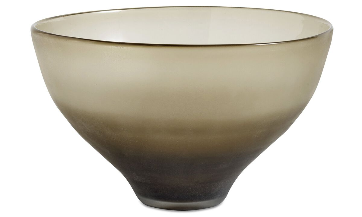 New designs - Smoke bowl - Grey - Glass