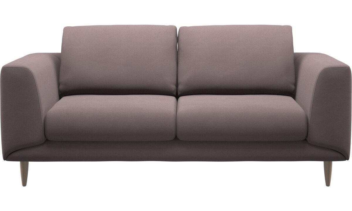2-sitzer Sofas - Fargo Sofa - Lila - Stoff