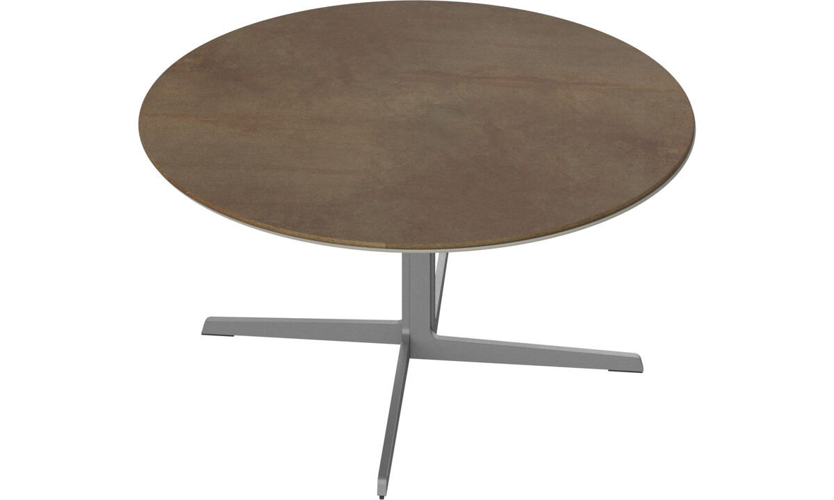 Coffee tables - Sevilla coffee table - round - Brown - Ceramic
