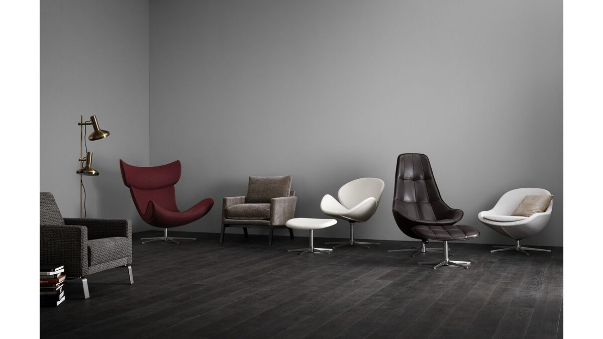 fauteuils veneto fauteuil met draaivoet boconcept. Black Bedroom Furniture Sets. Home Design Ideas