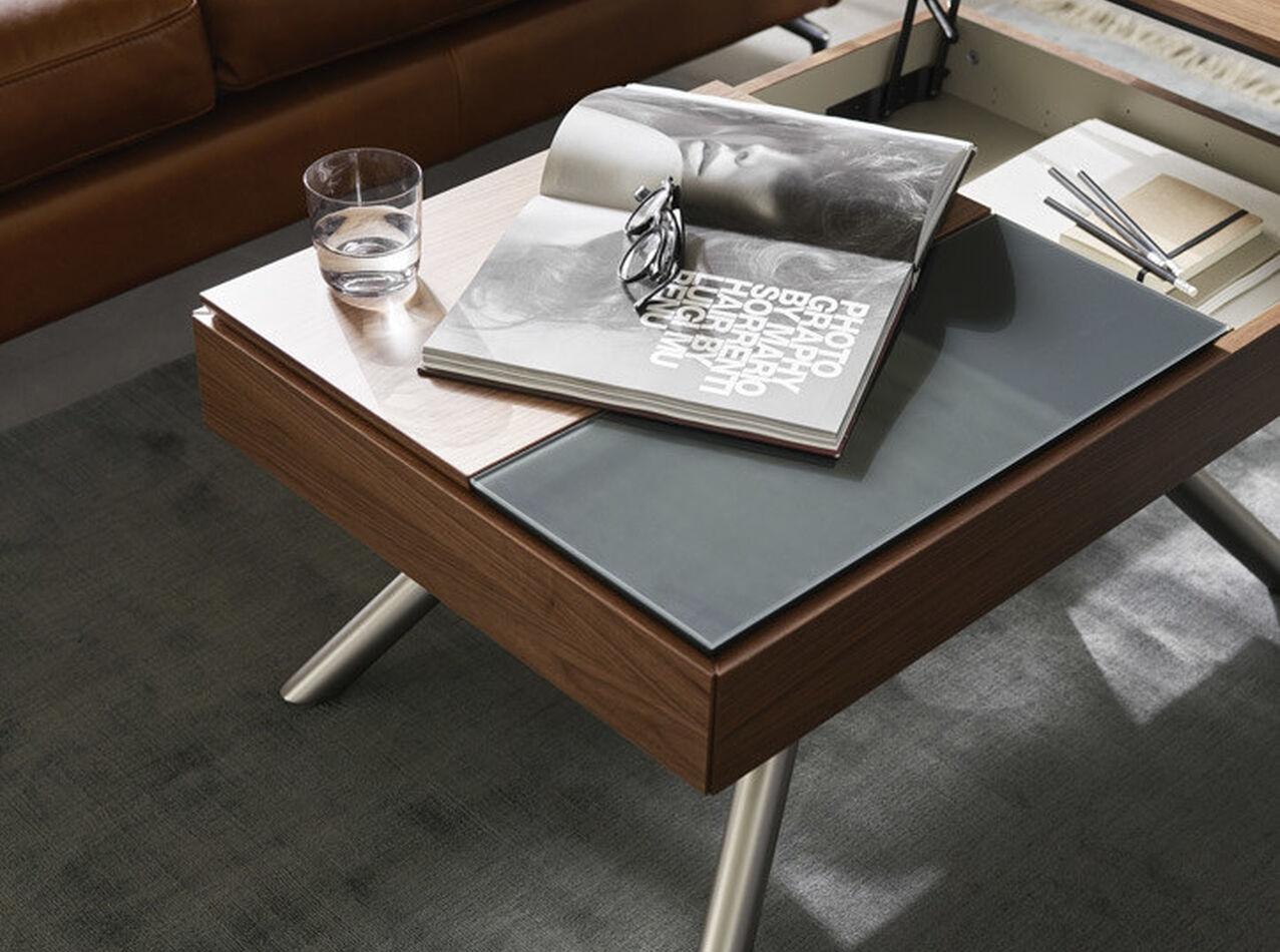 Tables basses - Table basse multifonction Chiva avec espace de rangement