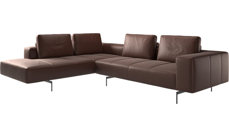 Corner Sofas Amsterdam Corner Sofa With Lounging Unit Boconcept