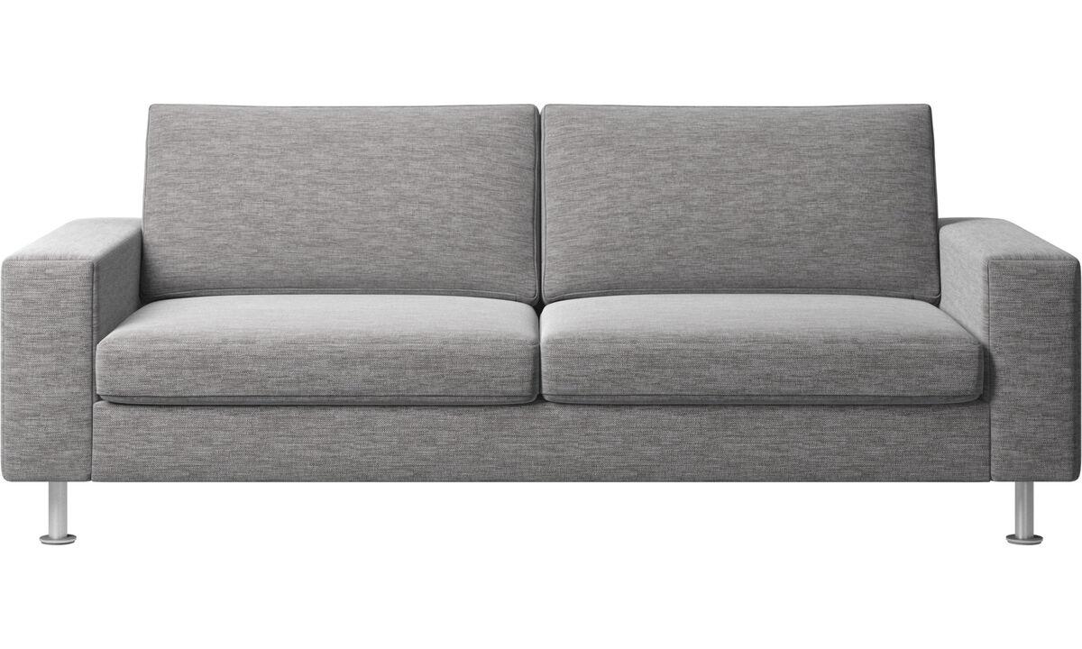 Sofa beds - Indivi 2 sofa with sleeper function - Grey - Fabric