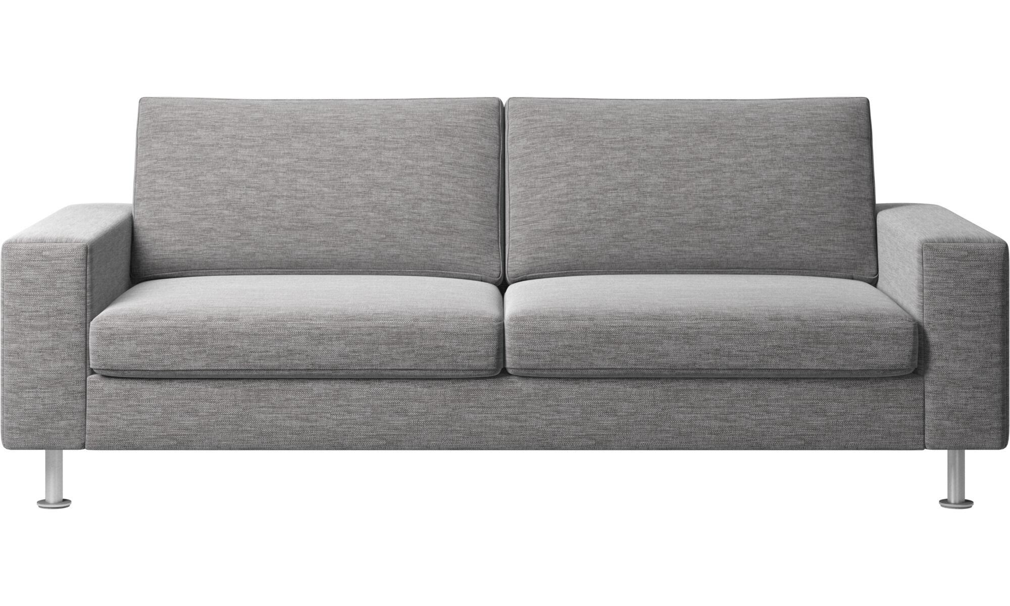 Sofa Beds   Indivi 2 Sofa Bed   Gray   Fabric