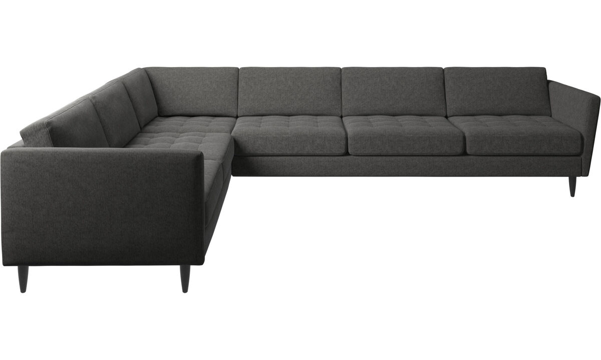 ecksofas osaka ecksofa getuftete sitzfl che boconcept. Black Bedroom Furniture Sets. Home Design Ideas