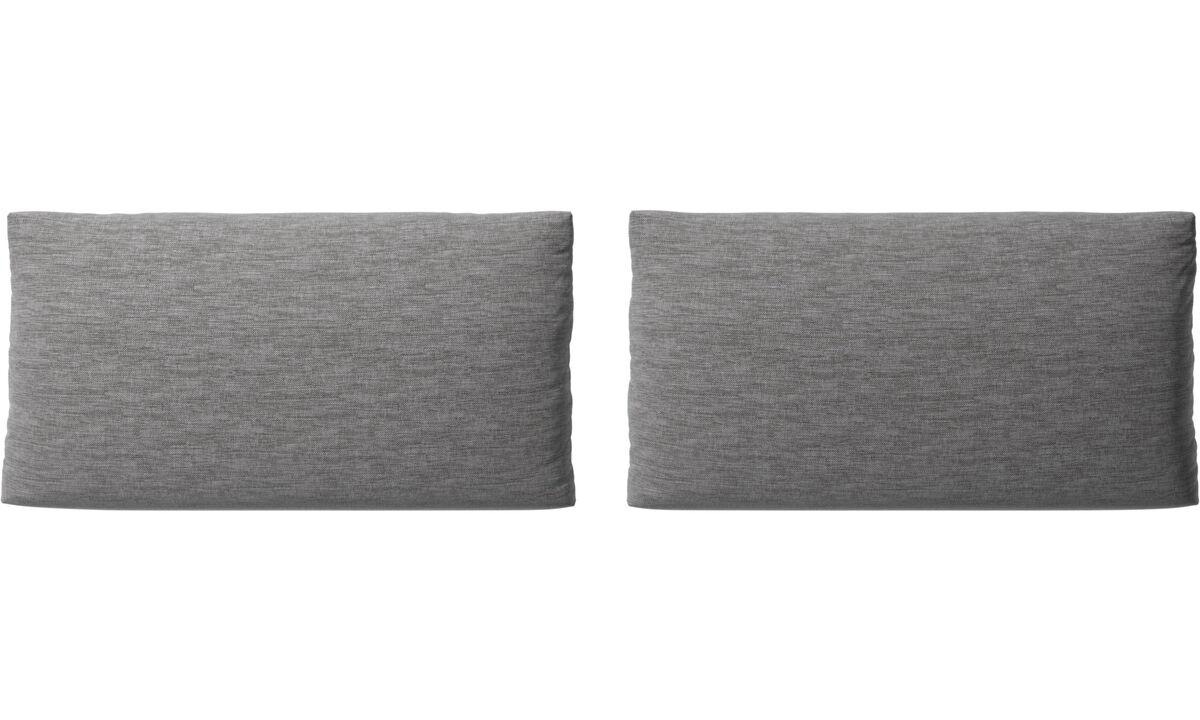 Furniture accessories - Nantes sofa cushions - Grey - Fabric
