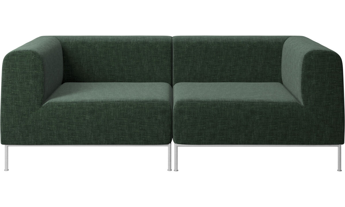 2 seater sofas - Miami sofa - Green - Fabric