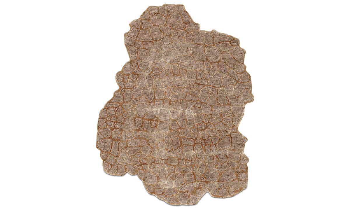Rugs - Tappeto Dino - rectangular - Beige - Tessuto