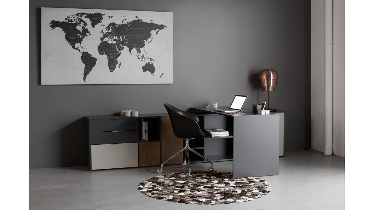 Gallery world map concrete art boconcept world map gumiabroncs Images