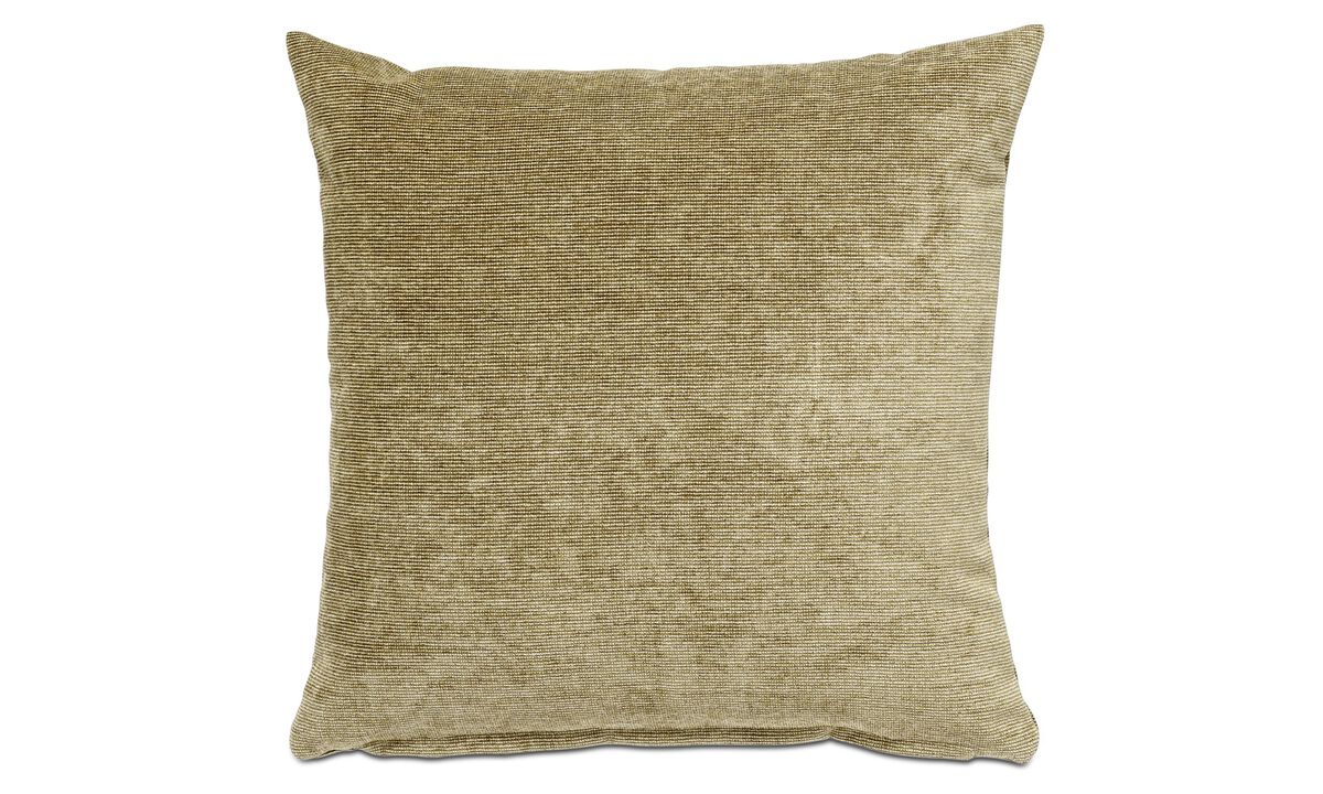 Velvet cushions - Velvet rough cushion - Green - Fabric
