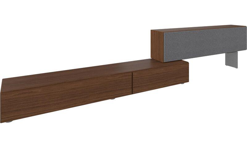 tv m bel lugano basiskombination mit nach unten klappenden t ren boconcept. Black Bedroom Furniture Sets. Home Design Ideas