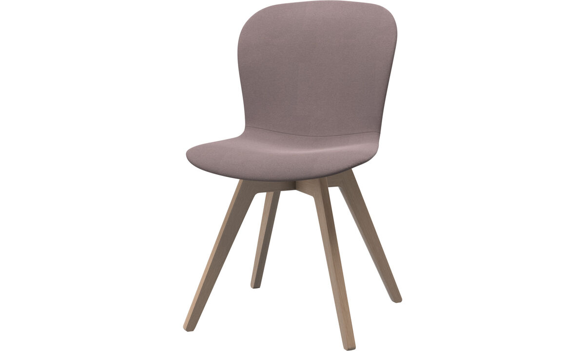 Dining chairs - Adelaide chair - Purple - Fabric