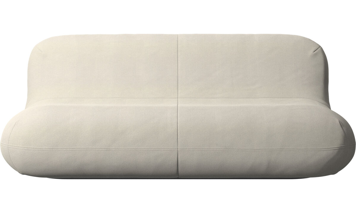 2.5 seater sofas - Chelsea sofa - White - Fabric