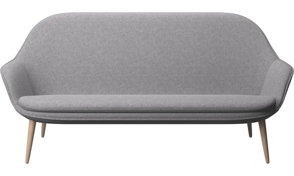 Nouveaux designs - canapé Adelaide - Gris - Tissu