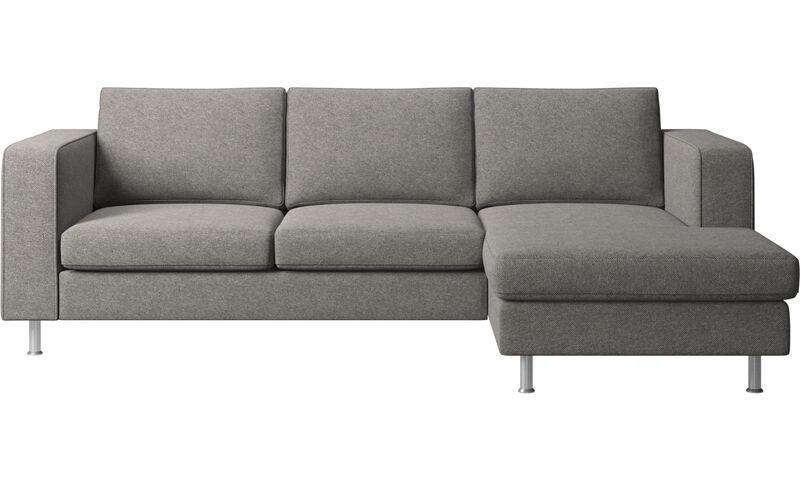 Chaise longue sofas - Indivi 2 sofa with resting unit - BoConcept