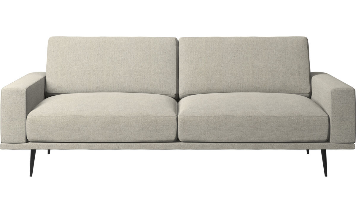 2.5 seater sofas - Carlton sofa - Beige - Fabric