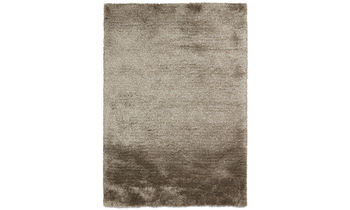 Tapis - Tapis Movement - rectangulaire - Gris - Polyester