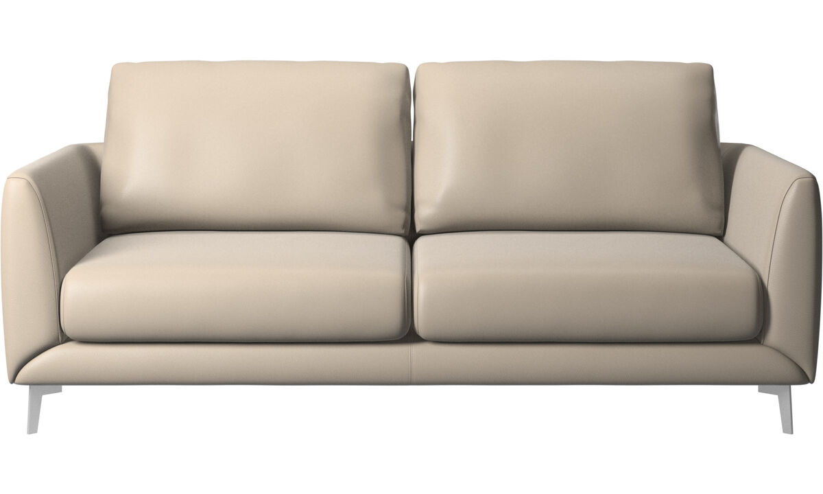 2.5 seater sofas - Fargo sofa - Beige - Leather