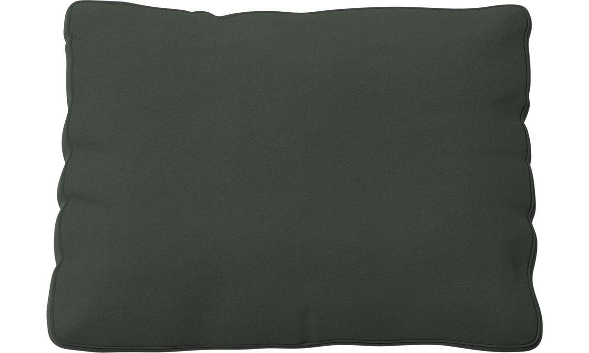 Acessórios para móveis - Almofada de encosto Miami - Verde - Tecido