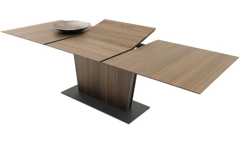 Tables de salle manger table milano avec allonge s for Table qui s allonge