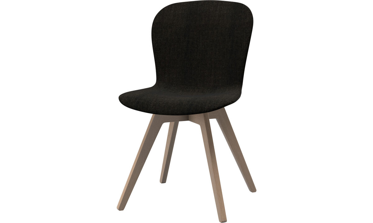 Dining Chairs Singapore - Adelaide chair - Brown - Fabric