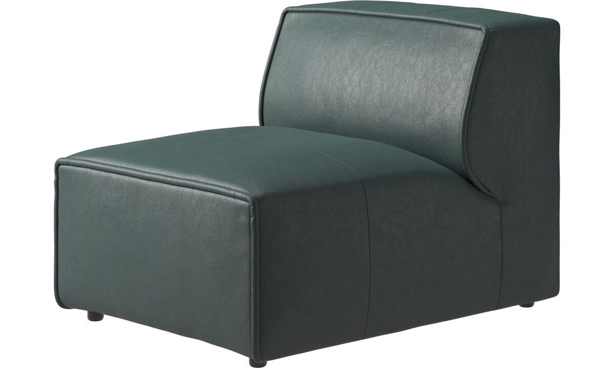 Modular sofas - Carmo chair/basic unit - Green - Fabric