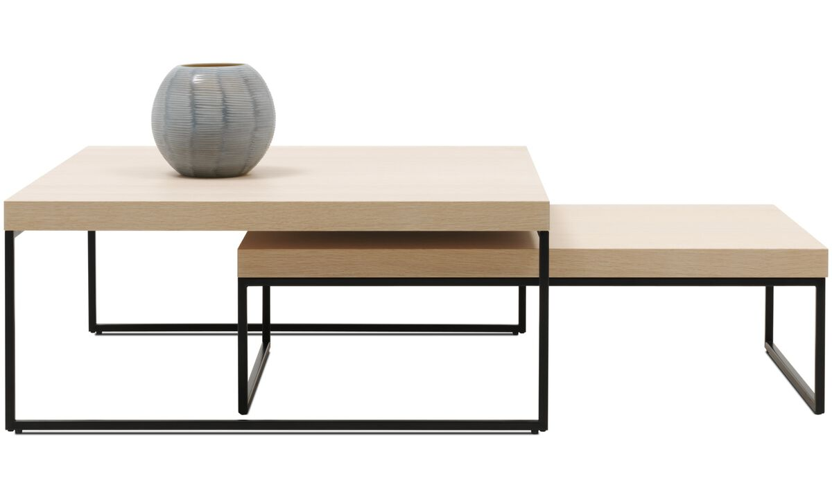 Coffee tables - Lugo coffee table - square - Brown - Oak