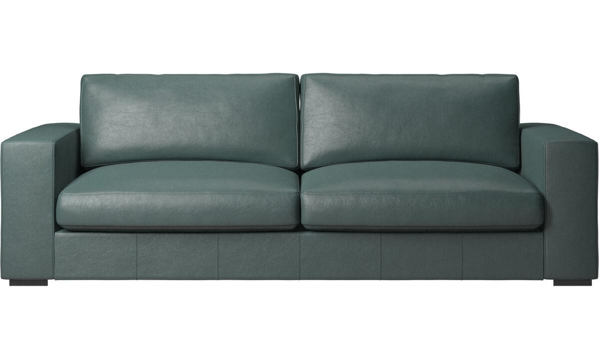 3 seater sofas - Cenova sofa - Green - Fabric