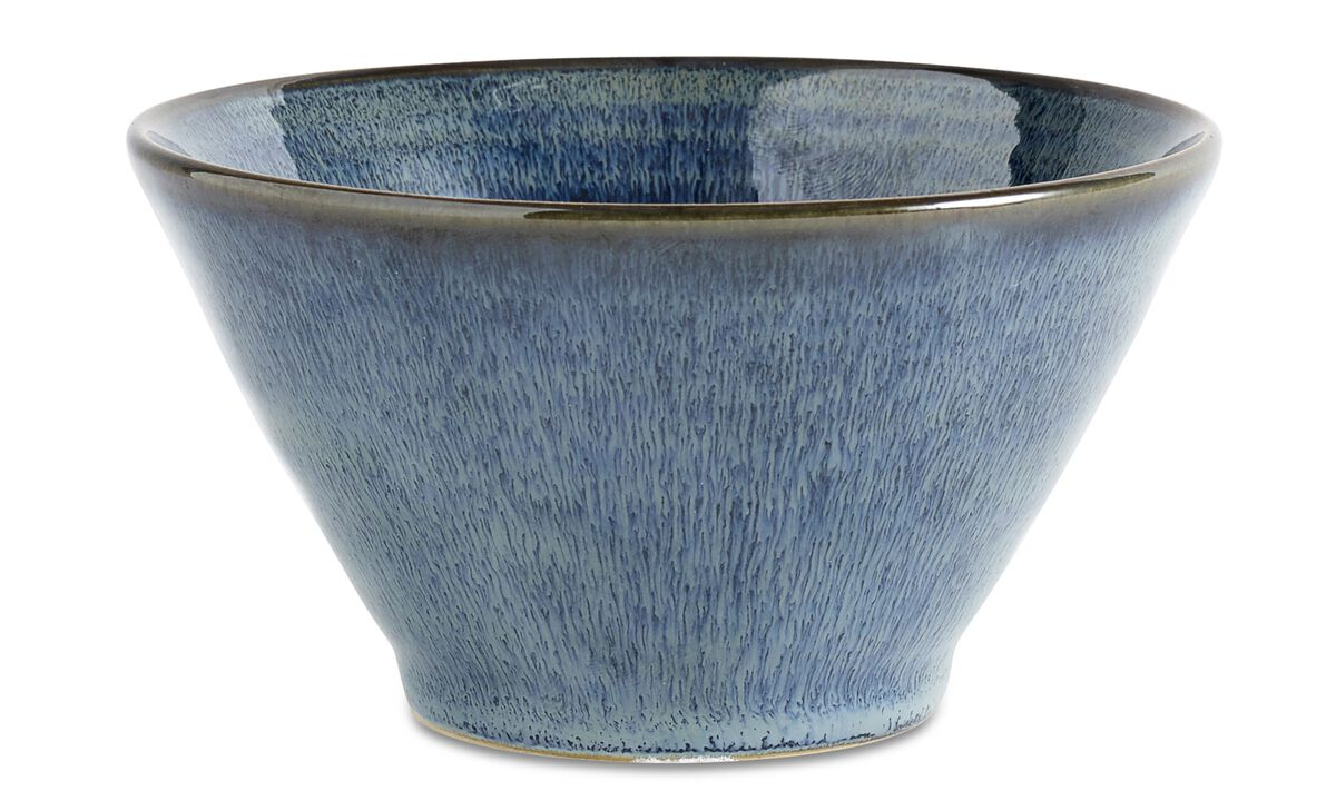 Bougeoirs - Bougeoir 'Via' - Bleu - Ceramic