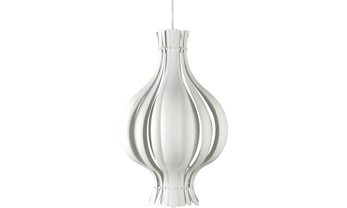 Lamps - Onion pendant - White - Metal