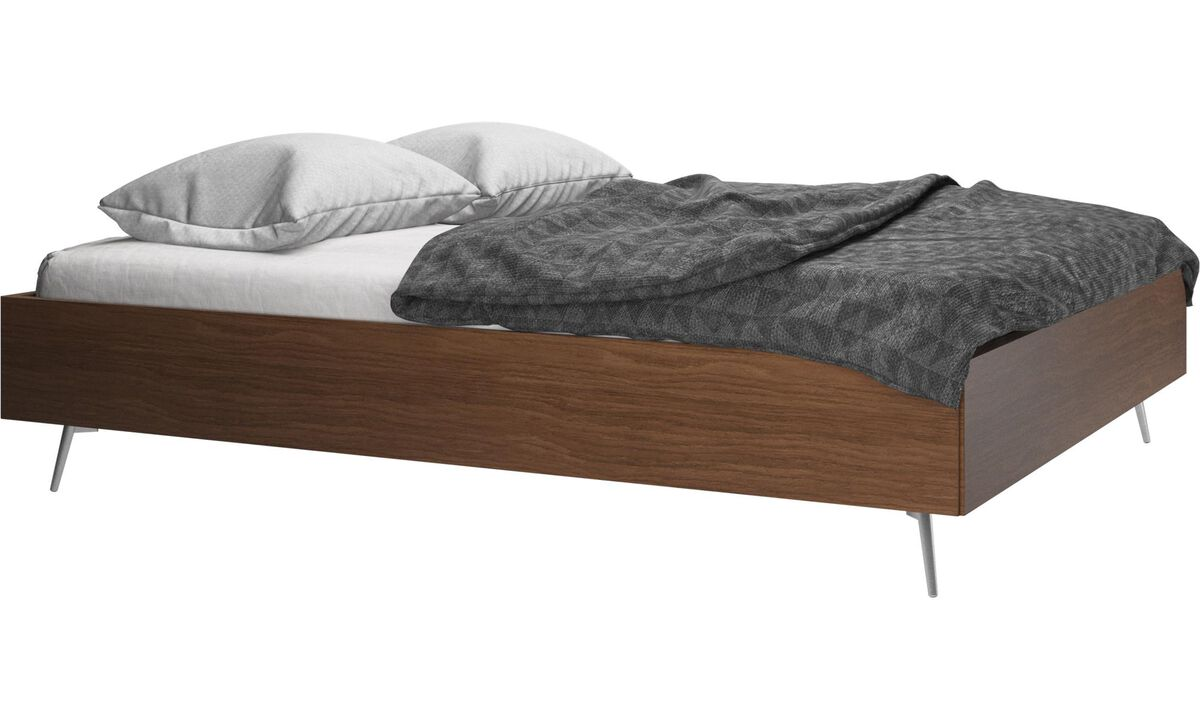 Beds - Lugano bed, excl. mattress - Brown