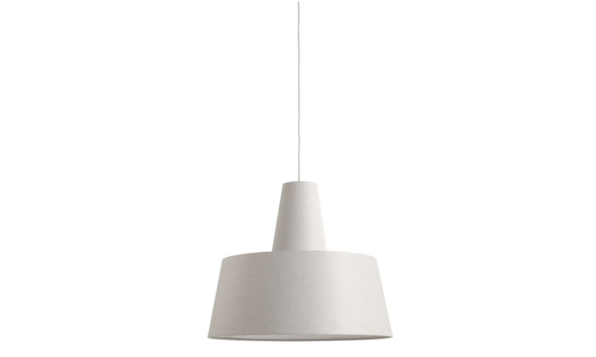Lamps - Texture pendant - White - Metal