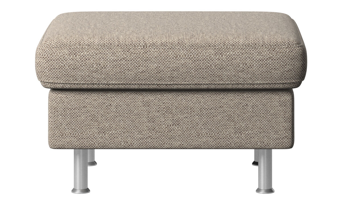 New designs - Indivi 2 footstool - Beige - Fabric