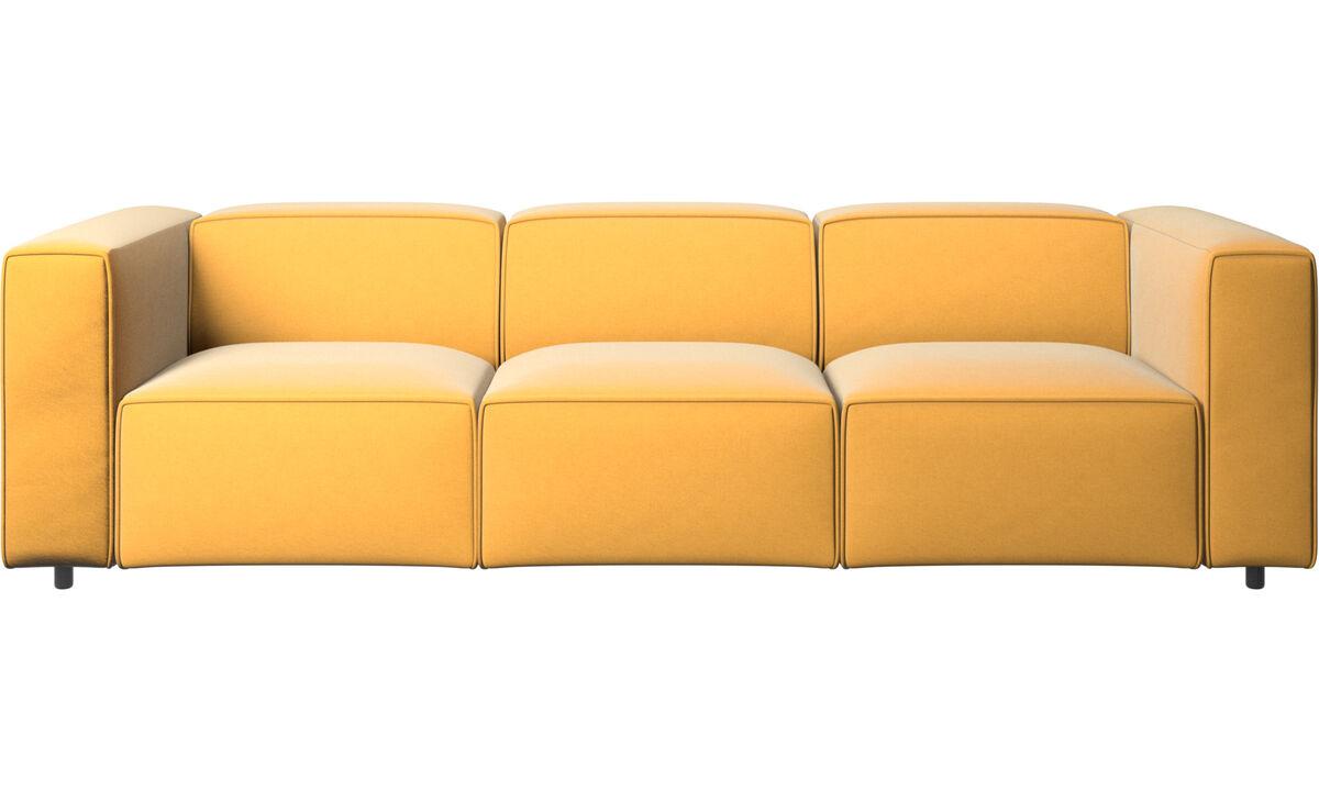 Modulare Sofas - Carmo Sofa - Gelb - Stoff