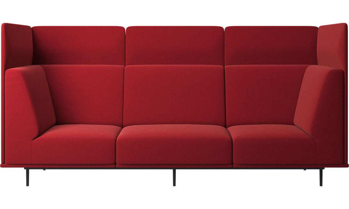 Sofás modulares - Sofá Toulouse - Vermelho - Tecido