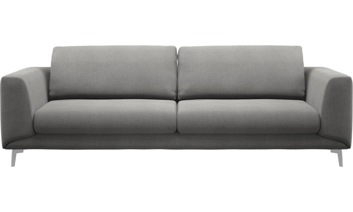 Sofy 3-osobowe - sofa Fargo - Szary - Tkanina