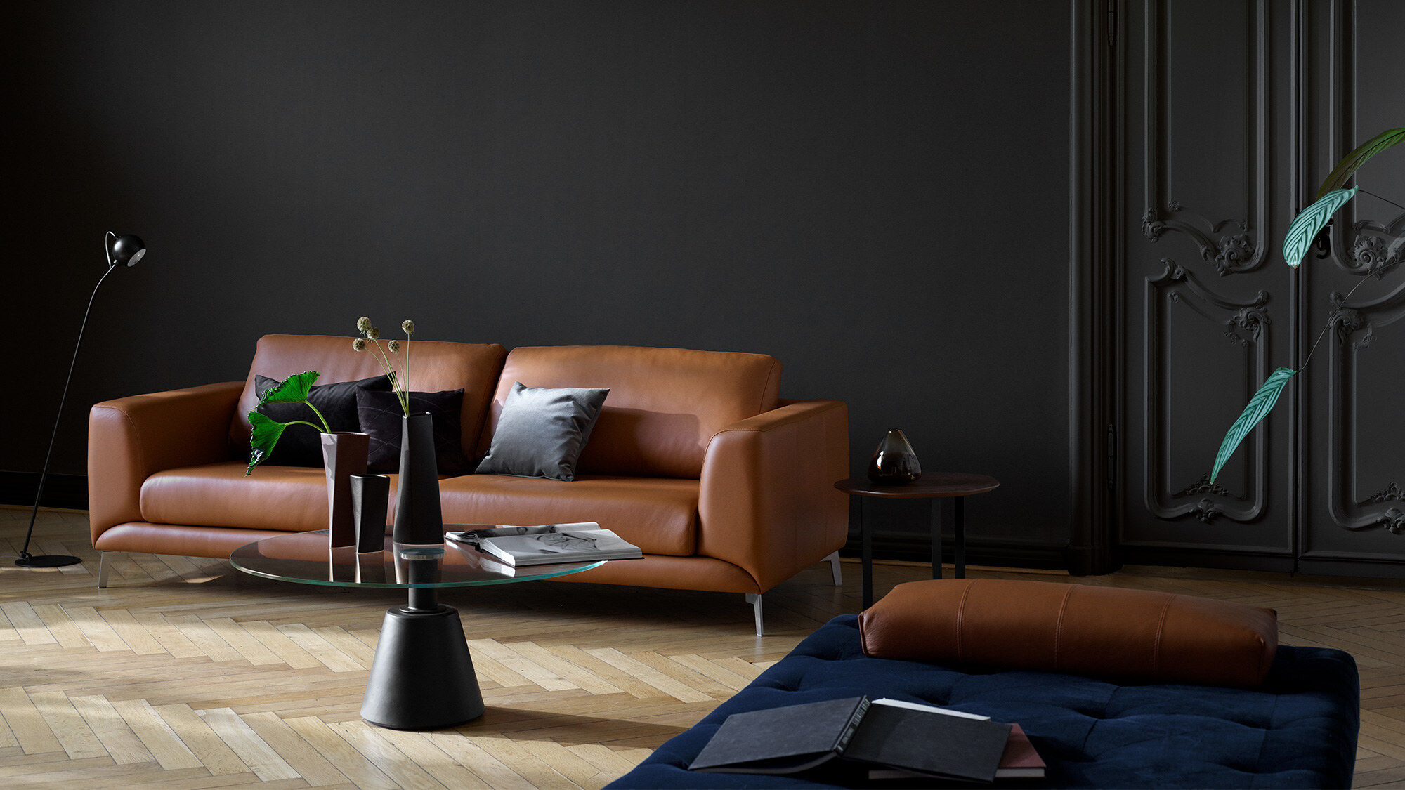 Chaise longue sofas - Fargo sofa with resting unit