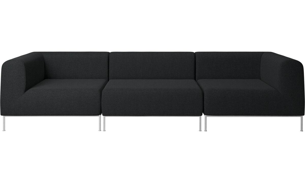 moderne 3 seters sofa kvalitet fra boconcept. Black Bedroom Furniture Sets. Home Design Ideas