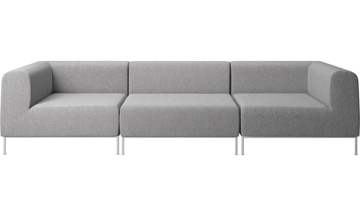 Modular sofas - Miami sofa - Gray - Fabric